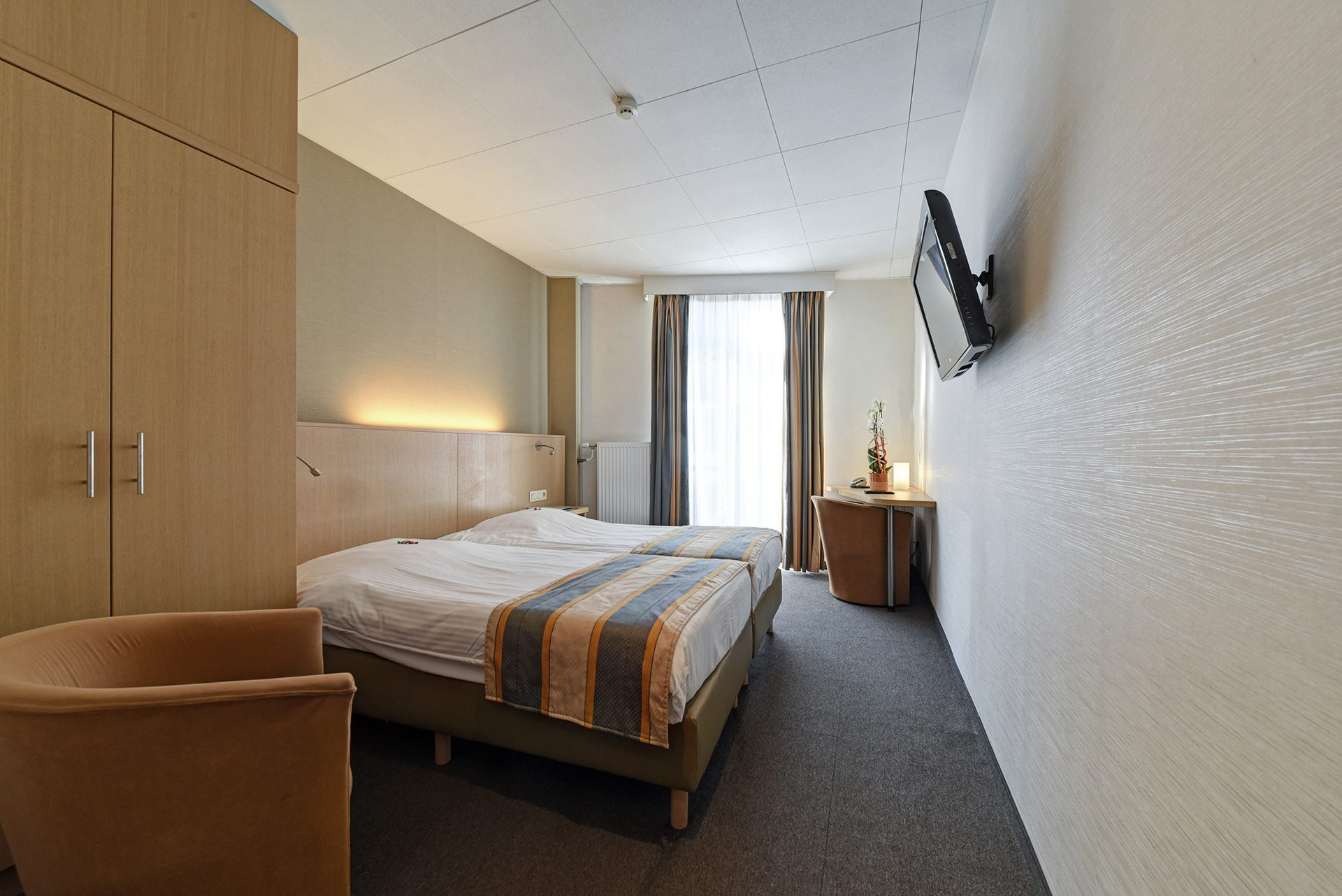 Comfort double room - Hotel Du Commerce